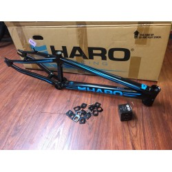 "HARO BLACKOUT PTC PRO XL 21 RACE FRAME 21"" HEADSET"