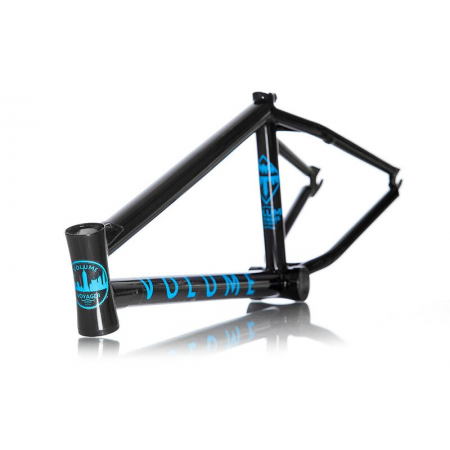 VOLUME BIKES VOYAGER BLACK 21 BILLY PERRY SIGNATURE BMX BIKE FRAME