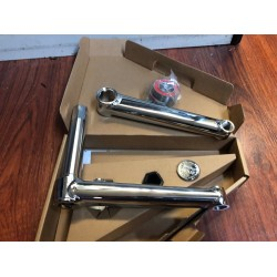 ODYSSEY THUNDERBOLT BMX CRANKS SET 175 RHD CHROME
