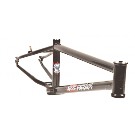 S&M BIKES STEEL PANTHER RACE FRAME GLOSS BLACK 20.5