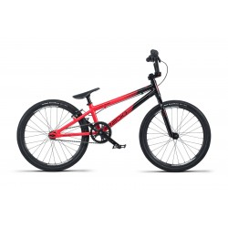 2019 RADIO RACELINE COBALT JUNIOR 18.5 BLACK RED COMPLETE BMX RACE BIKE