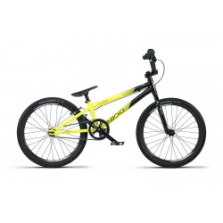 2019 RADIO RACELINE COLBALT JUNIOR 18.5 BLACK YELLOW COMPLETE BMX RACE BIKE