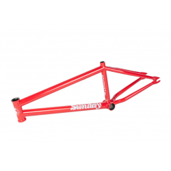 SUNDAY BIKES NIGHTSHIFT 20.5 RUBY RED BMX BIKE FRAME