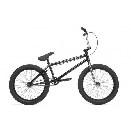 2020 KINK BIKES LAUNCH 20.25 GLOSS GUINNESS BLACK COMPLETE BMX BIKE