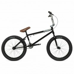 2020 STOLEN BRAND CASINO 20.25 CLASSIC BLACK W/CHROME COMPLETE BMX BIKE