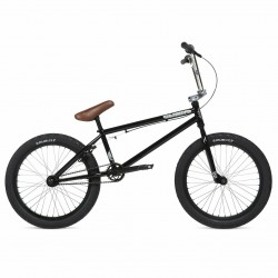 2020 STOLEN BRAND CASINO XL 21 CLASSIC BLACK W/CHROME COMPLETE BMX BIKE
