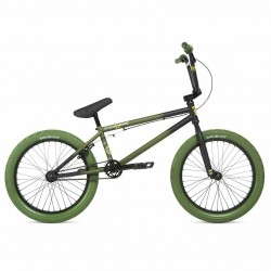 2020 STOLEN BRAND STEREO 20.75 FADED SPEC OPS GREEN COMPLETE BMX BIKE
