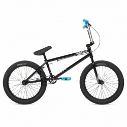 2020 STOLEN BRAND HEIST BLACK BLUE CHROME COMPLETE BMX BIKE