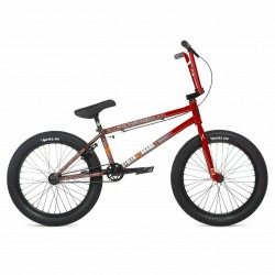 2020 STOLEN BRAND SINNER FC RHD 21 ROAD KILL RED SPLATTER COMPLETE BMX BIKE
