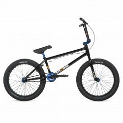 2020 STOLEN BRAND SINNER FC XLT 21 LHD BLACK WITH DARK BLUE COMPLETE BMX BIKE