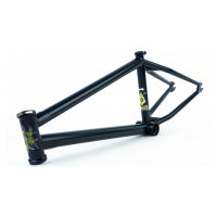 FIT BIKE CO YUMI TSUKUDA SIGNATURE BMX BIKE FRAME MATTE BLUE 20.75