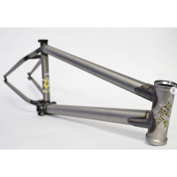 FIT BIKE CO YUMI TSUKUDA SIGNATURE BMX BIKE FRAME 21 MATTE CLEAR