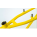 S&M 24 INCH STEEL PANTHER RACE FRAME YELLOW 21.5 CRUISER