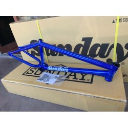 SUNDAY BIKES SOUNDWAVE V3 20.5 FRAME CANDY BLUE