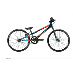 2019 HARO RACING BIKE MICRO MINI 16.7 COMPLETE GLOSS BLACK RACE BLUE SALE 18""