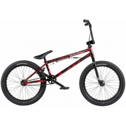 2020 WE THE PEOPLE VERSUS 20.65 BRUSHED METALLIC RED COMPLETE BMX BIKE