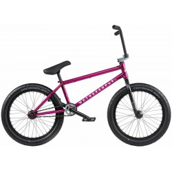 2020 WE THE PEOPLE TRUST FC 20.75 TRANS BERRY PINK COMPLETE BMX BIKE