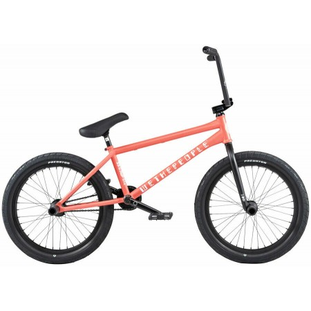 2020 WE THE PEOPLE BATTLESHIP 20.75 CORAL RED COMPLETE BMX BIKE