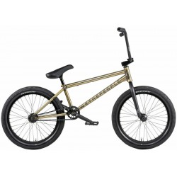 2020 WE THE PEOPLE ENVY 21 LHD MATTE TRANS GOLD COMPLETE BMX BIKE
