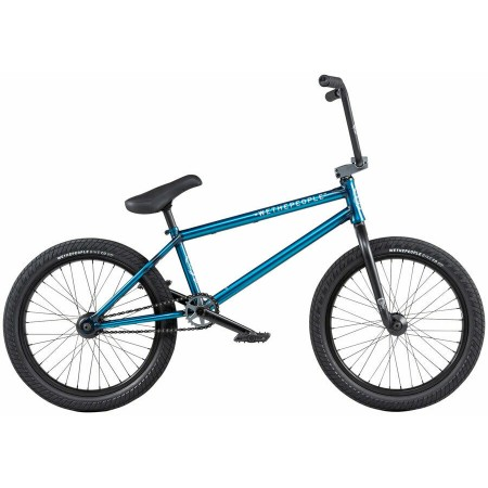 2020 WE THE PEOPLE CRYSIS 20.5 MATTE TRANS TEAL COMPLETE BMX BIKE
