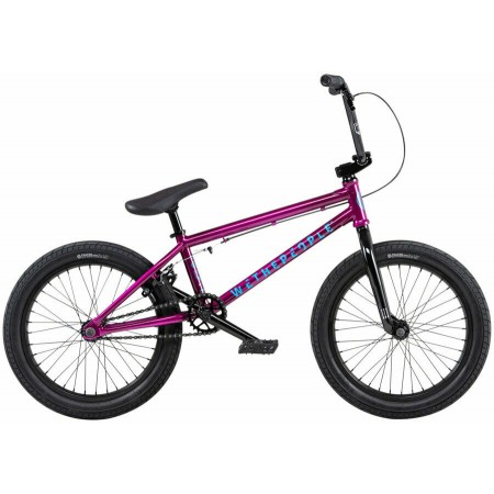 2020 WE THE PEOPLE CRS 20.25 METALLIC PURPLE COMPLETE BMX BIKE