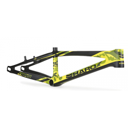 "HARO BIKES CITIZEN NEON CAMO RACE CARBON FRAME PRO 20.5 BMX BIKE 20.5"" YELLOW"