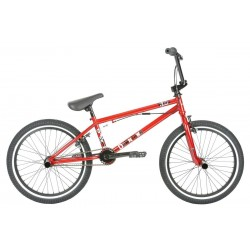 2019 HARO DOWNTOWN DLX 20.5 GLOSS MIRRA RED COMPLETE BMX FREESTYLE BIKE