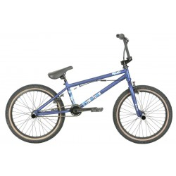 2019 HARO DOWNTOWN DLX 20.5 MATTE BLUE COMPLETE BMX FREESTYLE BIKE