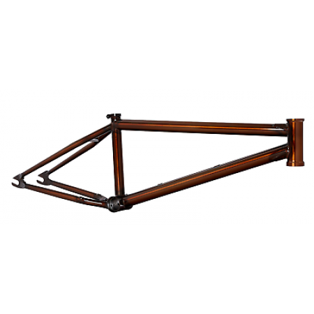 "S&M CCR MOD 20.75 TRANS BROWN  FRAME BMX BIKE M.O.D. CREDENCE 20.75"" JUICY TAN"