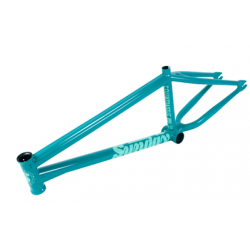 "SUNDAY BIKES SOUNDWAVE V3 21 FRAME BILLARD GREEN SOUND WAVE BMX 21"" BLUE"