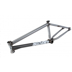 SUNDAY BIKES DARKWAVE MATTE DUSK RAW BROC RAIFORD FRAME 20.75 BMX BIKE 20.75""