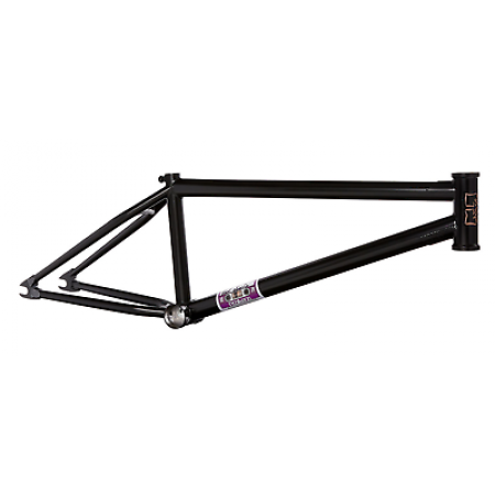 "FIT BIKES MIXTAPE SMALL 20.5 MATTE BLACK BMX BIKE FRAME MIX TAPE 20.5"" SIMMS"