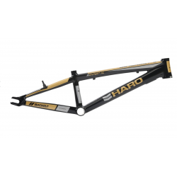 HARO BLACKOUT PTC EXPERT XL 20  RACE FRAME BLACK GOLD 20""