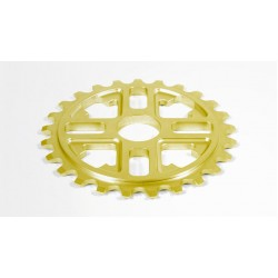 FIT BIKE KEY SPROCKET 25T GOLD 24mm YELLOW FBC 25 T
