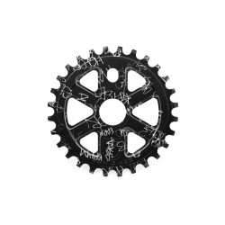 S&M X-MAN SPROCKET 25 T BTM WRAP BLACK X MAN XMAN 25T CHAINWHEEL BMX BIKE HODER