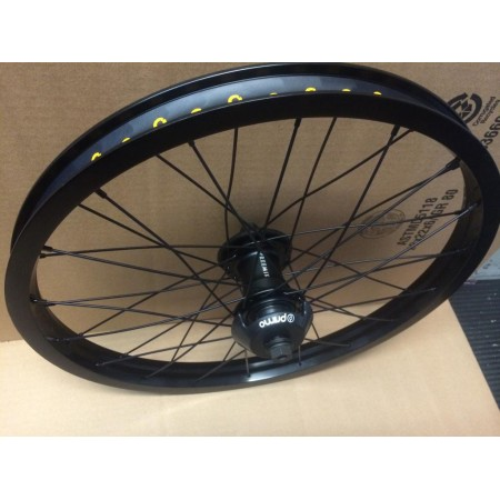 PRIMO BMX FREEMIX PRO BLACK WHEEL FREECOASTER FREE MIX HUB LHD LEFT FEMALE