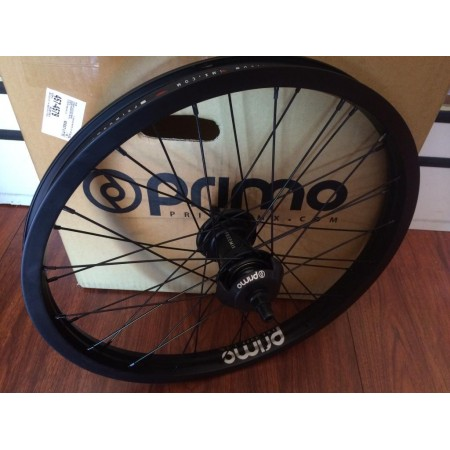 Primo Bmx Freemix Complete Wheel Freecoaster Free Mix Bmx RIGHT Black Rhd CULT