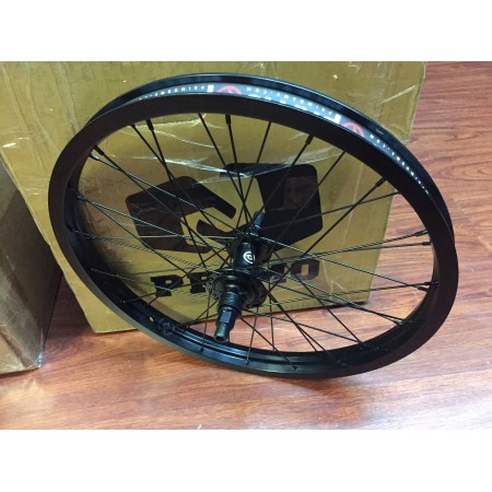 PRIMO REMIX COMPLETE REAR WHEEL BLACK 8 T RHD BMX BIKE BIKES BACK 36