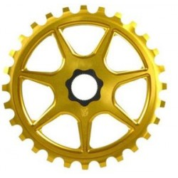 S&M Bikes L7 Gold Sprocket Chainwheel 28 T Fit Tooth