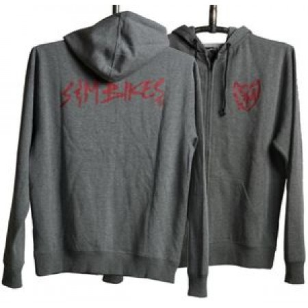 S&M Bike Bmx Sweatshirt Pitched Hoodie Medium Grey Gray M Shirt T Fit Tshirt
