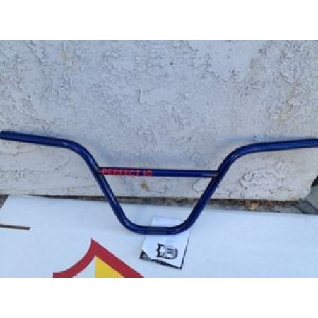 S&M Bikes Perfect 10 Bars Trans Blue Handlebars Ten Bar