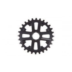 FIT BIKE KEY DRIVE SPROCKET 28 MATTE BLACK 24 mm splined
