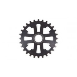 Fit Bike Key Drive Sprocket 25 Matte Black 24 Mm Splined Spline 25t Profile S&M