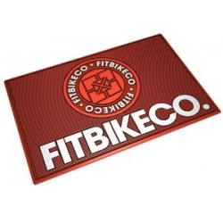 Fit Bikes Bmx Rubber Floor Mat Logo Shop
