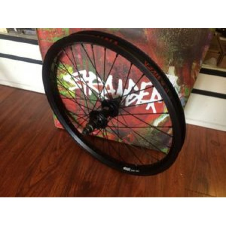 Stranger Crux Rear Wheel Complete Black  9 T Rhd Right 14 Mm  Bmx Bike Profile