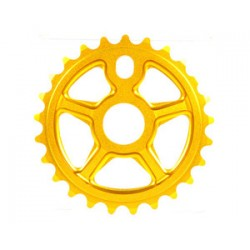 S&M Bikes Tuff Man Lite Sprocket Chainwheel Gold 24 T Tuffman Fit Profile Cult