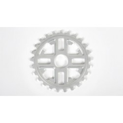 Fit Bike Key Sprocket 30 T Polished Bright Silver 30t S&M Bmx Bikes Fbm