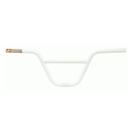S&M Bikes Slam Bars White Handlebars Bar Bmx Fit 8 Fit