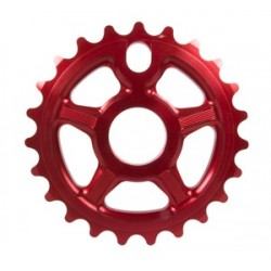S&M Bikes Tuff Man Lite Sprocket Chainwheel Red 24 T Tuffman Fit Profile Cult